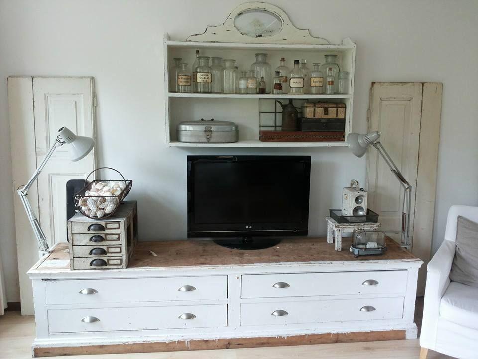 tv meubel woonkamer pinterest