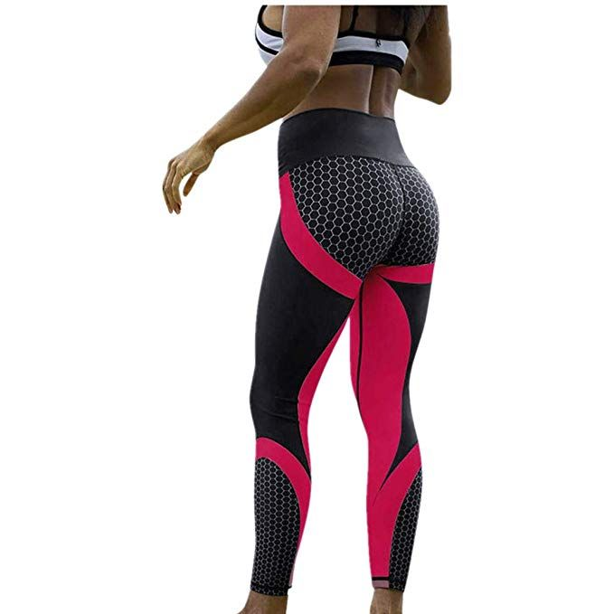 ee7fcd87a7e50 vermers Hot Sale Yoga Sports Leggings, Womens 3D Print Skinny Workout Gym  Training Cropped Pants #yogaclothes