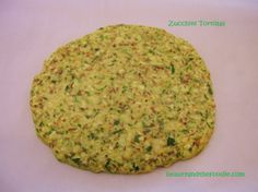Paleo Zucchini Tortillas. Grain free, low carb, nut free, gum free,  with garlic and spices. Perfect for taco, toastada, or breakfast burrito. Can be soft or more crisp. beautyandthefoodie.com