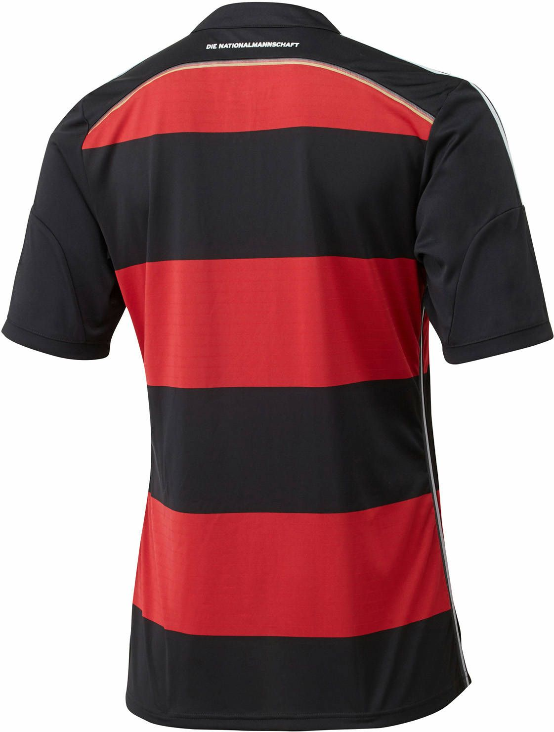 9a7e497ce38 Bild ShopSoccer JerseysAdidasFootballBlueBuy The new Germany 2014 Away Kit  comes with large dark red horizontal hoops.