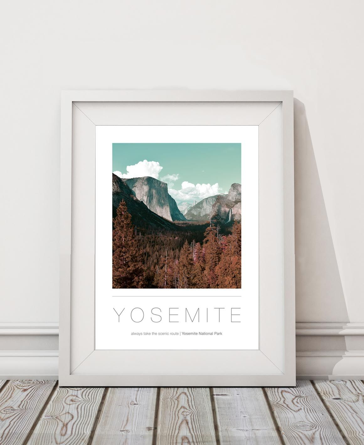 Yosemite National Park A3 / A2 Destination Poster