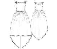 5212 Atlas wedding dress free patterns