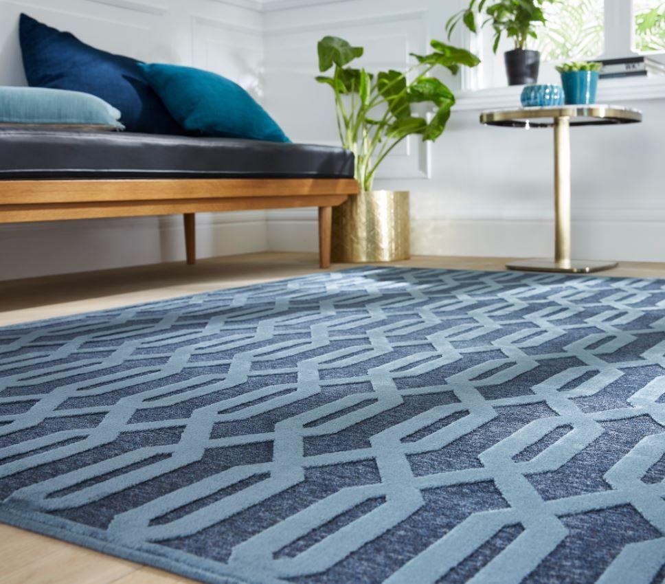 tapis a reliefs au design contemporain
