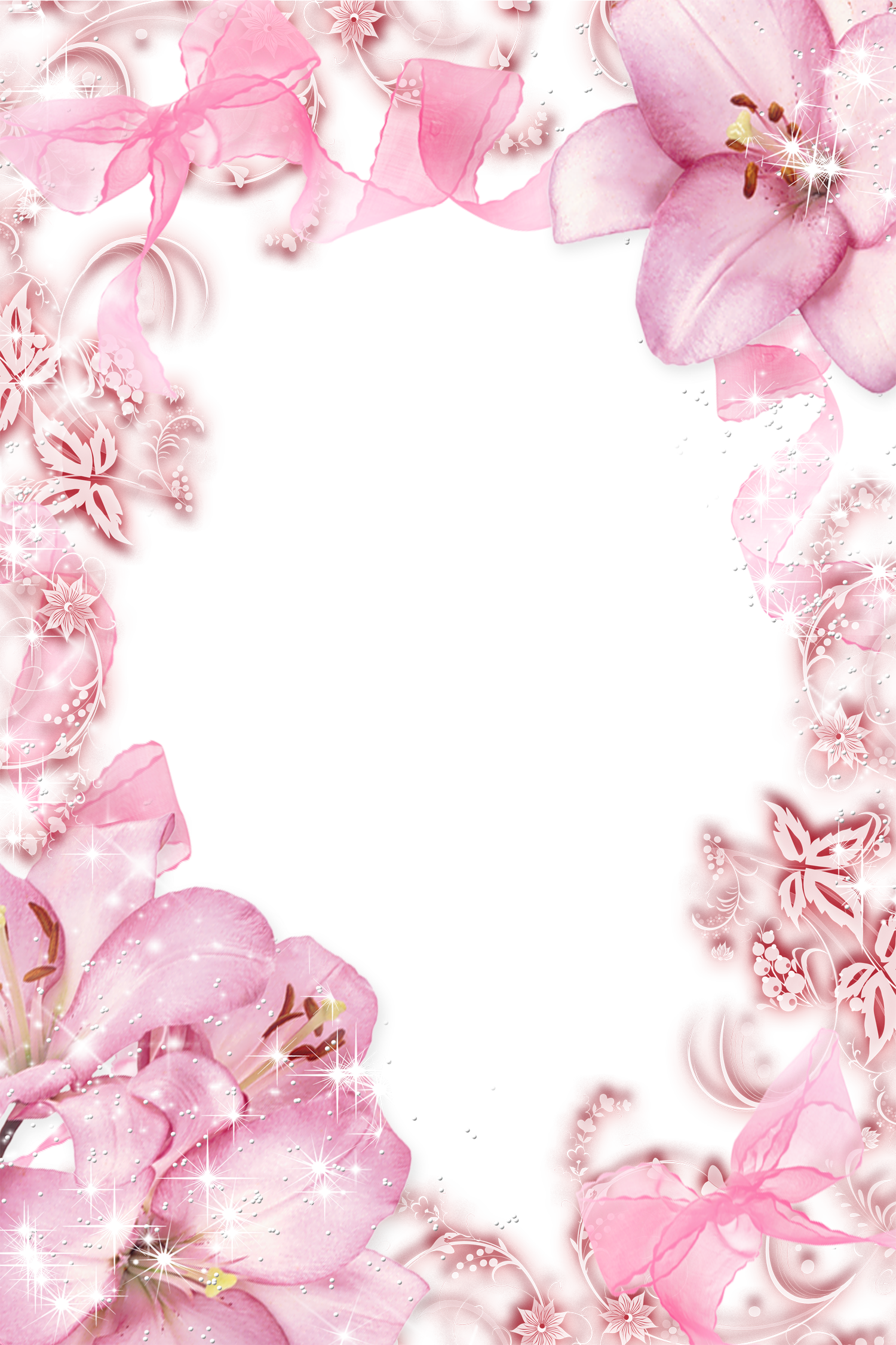 Transparent pink flowers png photo frame wallpapers and more transparent pink flowers png photo frame mightylinksfo Images