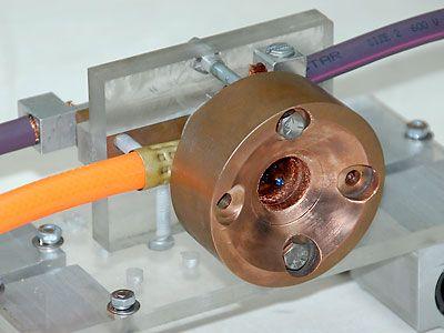 My Electric Engine - Magnetoplasmadynamic Thruster  nozzle