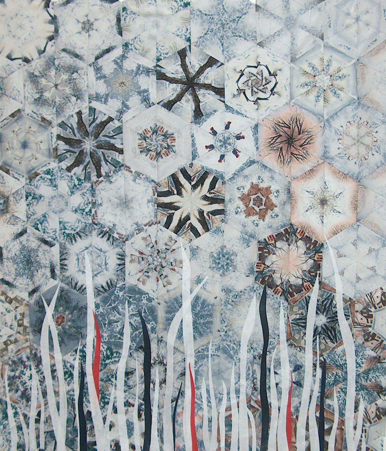 Marion Caspers Textile Art .