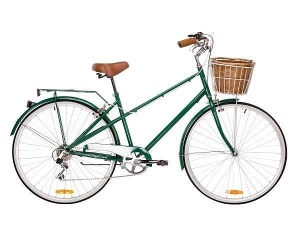 Reid Vintage Ladies Bike Bicycle Mixte 6 Speed Dark Green Size Large Vintage Ladies Bike Womens Bike Speed Bicycle