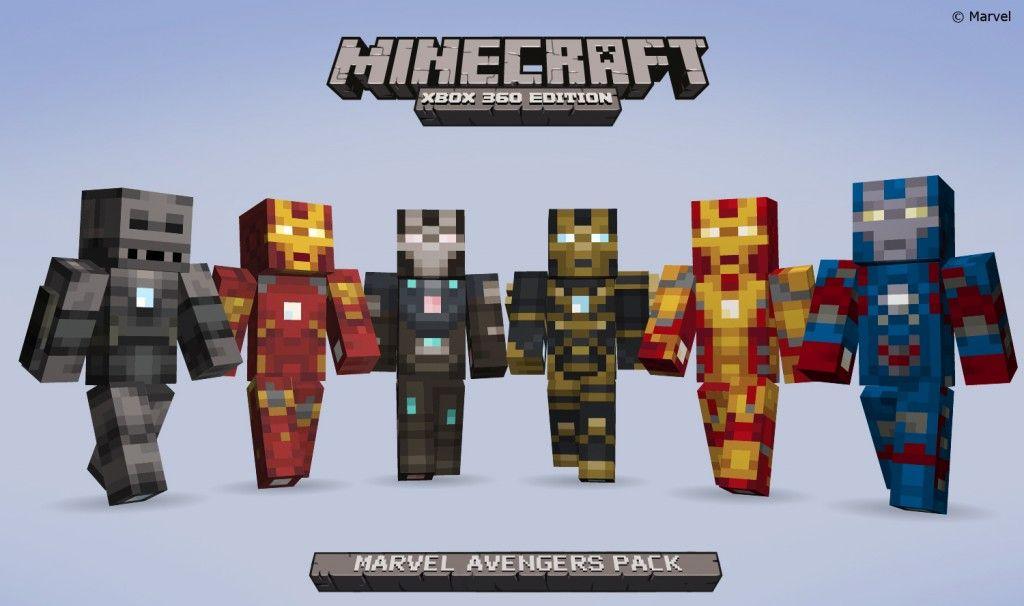 Minecraft - MarvelAvengerSkinpackShot5 | Minecraft | Pinterest ...