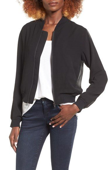 Finders Keepers the Label Nouvel Bomber available at #Nordstrom