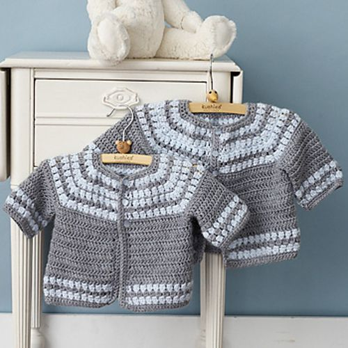 Cute Cardigan Free Pattern Croche Infantil Pinterest Free