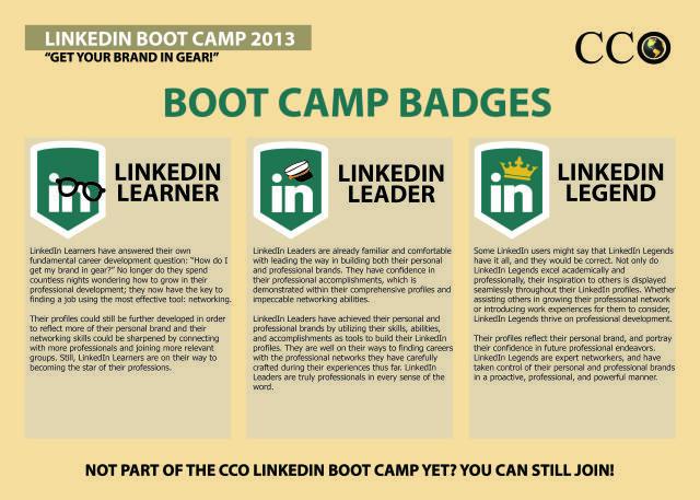 LinkedIn Boot Camp Badges Boot camp, Badges and Job interviews - purdue cco resume
