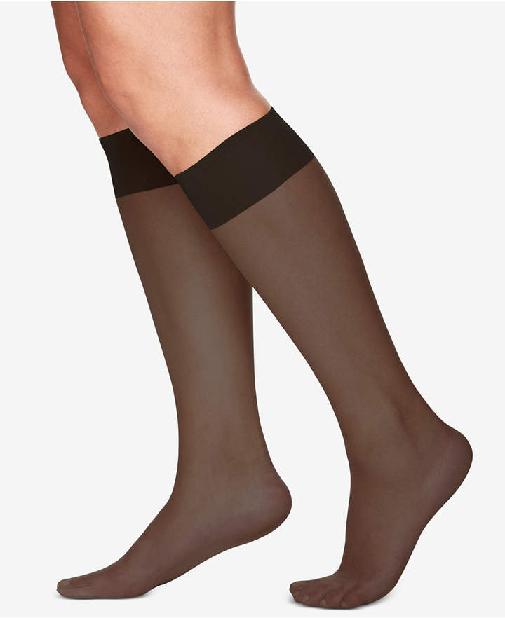 e8db69a0f Berkshire Women Plus Size Ultra Sheer Knee Highs Hosiery 6460 ...