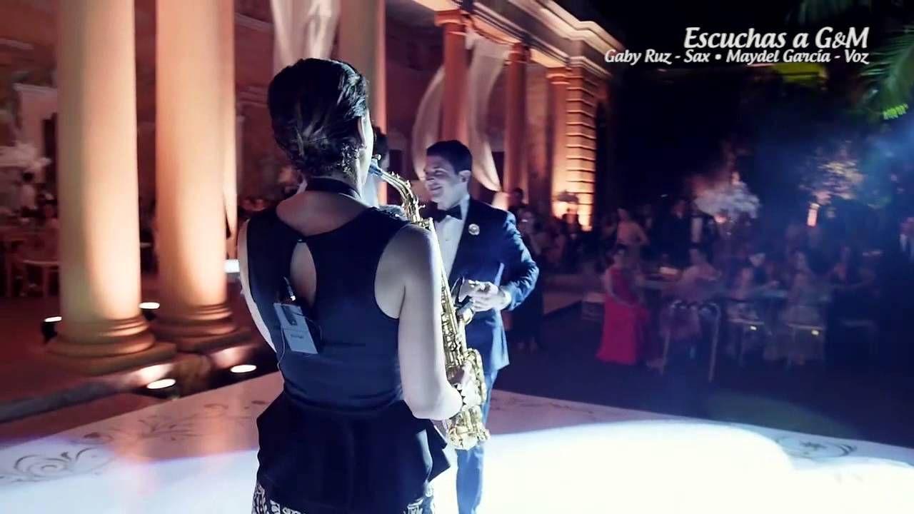 G&M - Isn't she lovely (Show de sax y voz en boda)