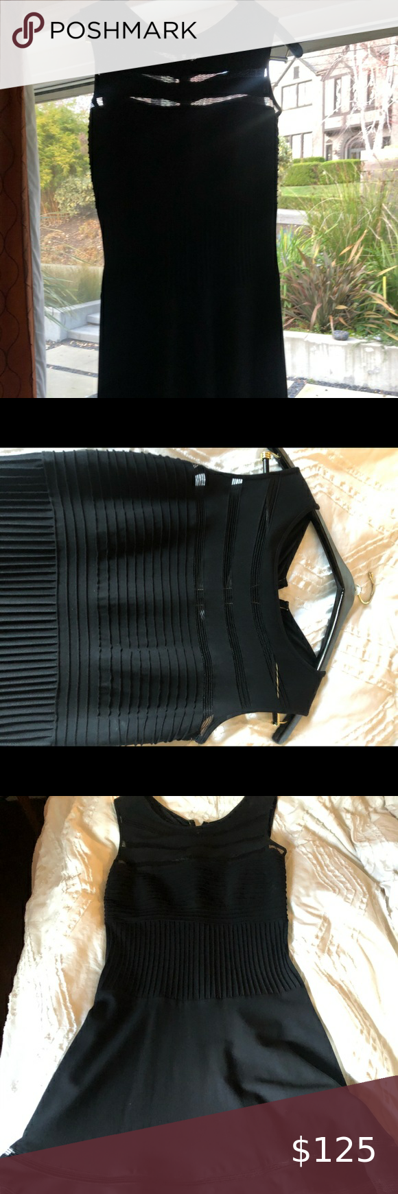 Tadashi Shoji Black Fitted Dress Used Once Fitted Black Dress Fitted Dress Tadashi Shoji Dresses [ 1740 x 580 Pixel ]