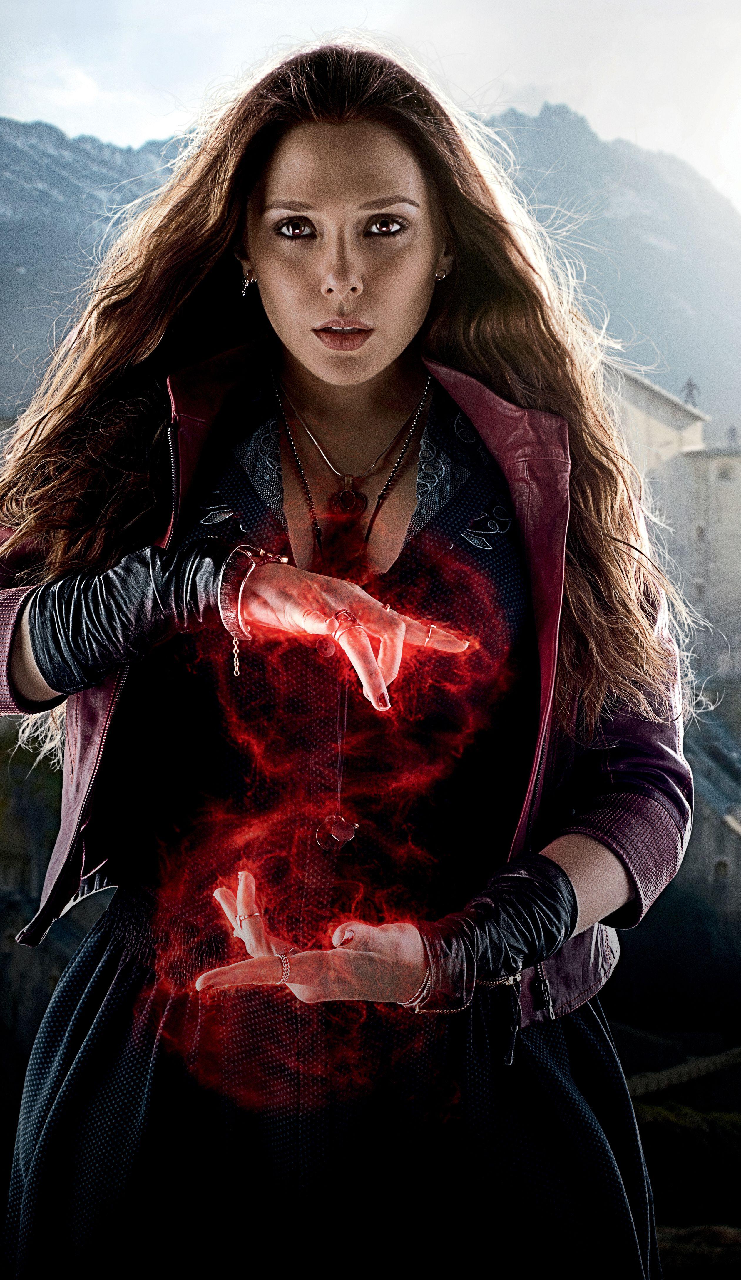 Elizabeth Olsen Is The Scarlet Witch
