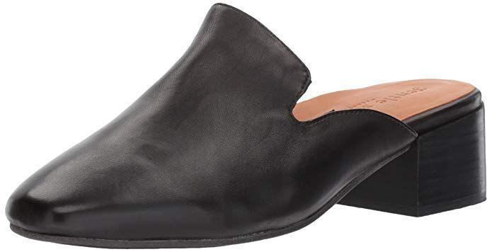 126567421f5 Gentle Souls by Kenneth Cole Women s Eida Slip On Mule With Block Heel-  Leather Mule Review