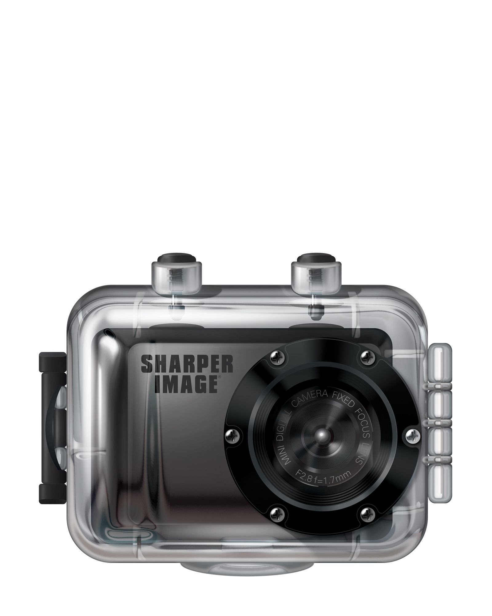 Sharper Image Black Hd Mini Action Camera Electronics Polyvore