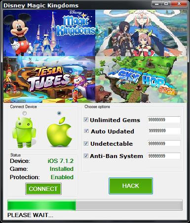 Focus Disney Magic Kingdoms Hack Cheats 100 Legit Working 2017 Trainer Unlimited Gems