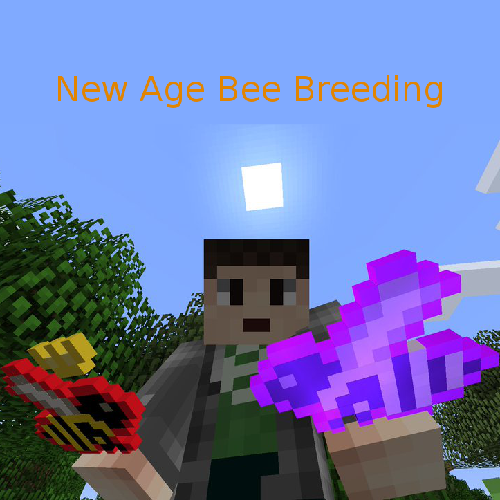 New Age Bee Breeding Nabb Mod 1 14 4 1 13 2 1 12 2 1 11 2 1 10 2 1 8 9 1 7 10 Minecraft Modpacks New Age Bee Minecraft 1