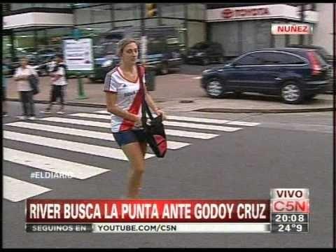 C5N - FUTBOL: LA PREVIA DE RIVER VS GODOY CRUZ (PARTE 1)