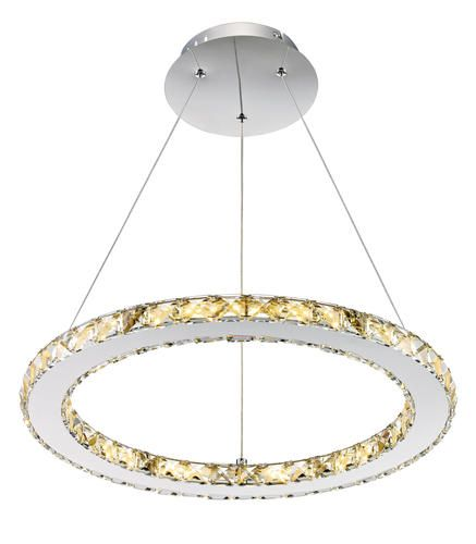 Patriot Lighting® Elegant Home Noah Dimmable LED Circle Pendant at Menards® - Patriot Lighting® Elegant Home Noah Dimmable LED Circle Pendant At