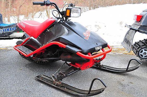1989 Yamaha Sno Scoot Snowmobile Yamaha For Sale In