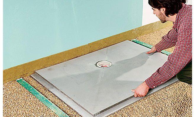 Bodengleiche Dusche selber bauen Bodengleiche dusche