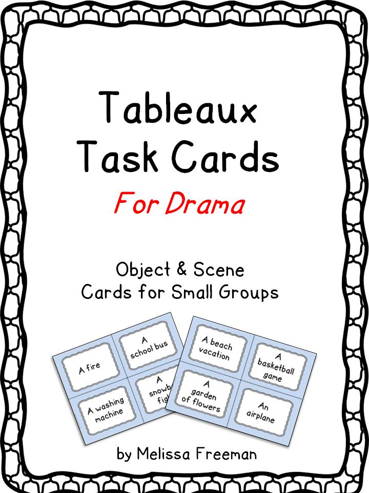 Drama Card Bundle   Middle School Drama   Drama education