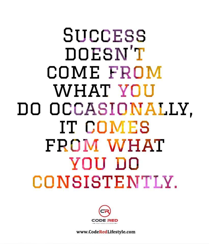 Consistency is EVERYTHING! 👏👏