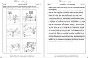Bildergeschichten Aus Dem Deutschunterricht 6