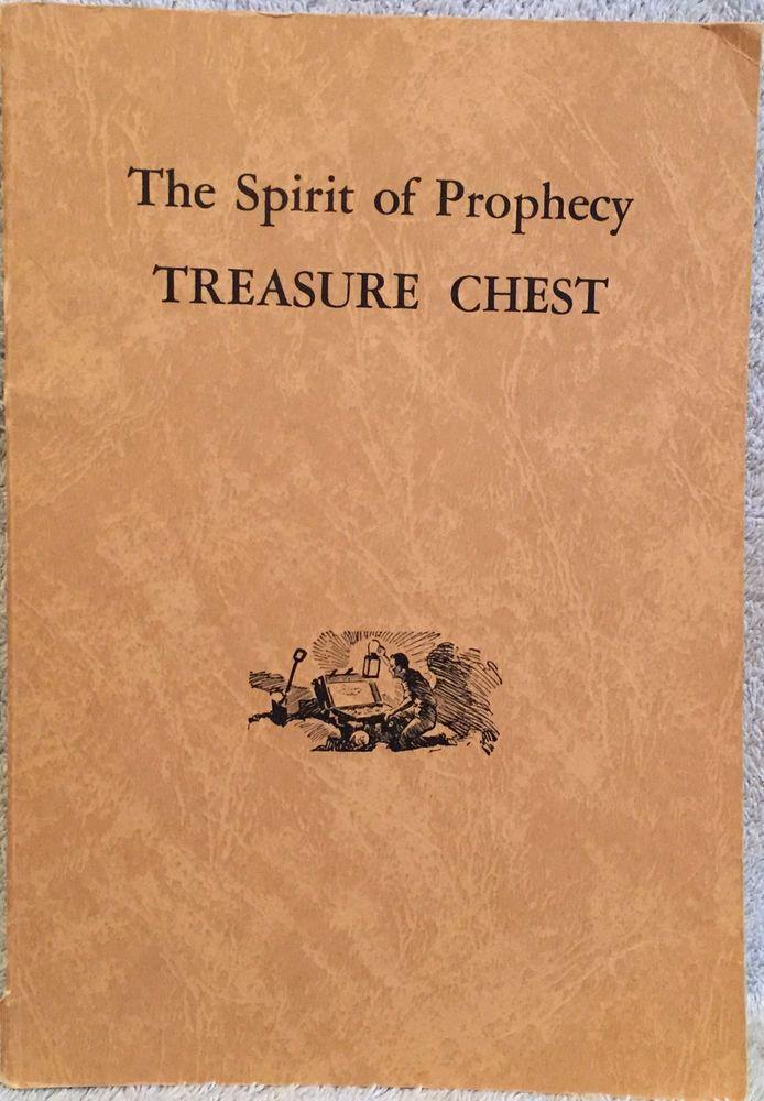The Spirit Of Prophecy Treasure Chest Ellen G White C 1960 Egw Estate 192 Pp Pb Ellen G White Prophecy Treasure Chest