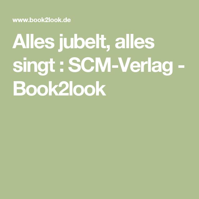 Alles jubelt, alles singt : SCM-Verlag - Book2look