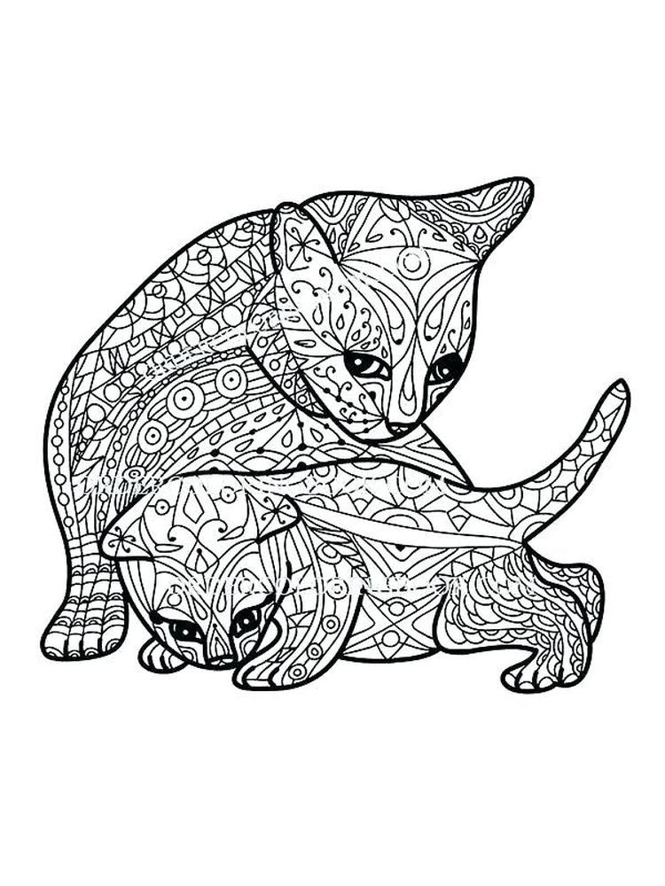 Unicorn Cat Coloring Pages. Below is a collection of Cute ...