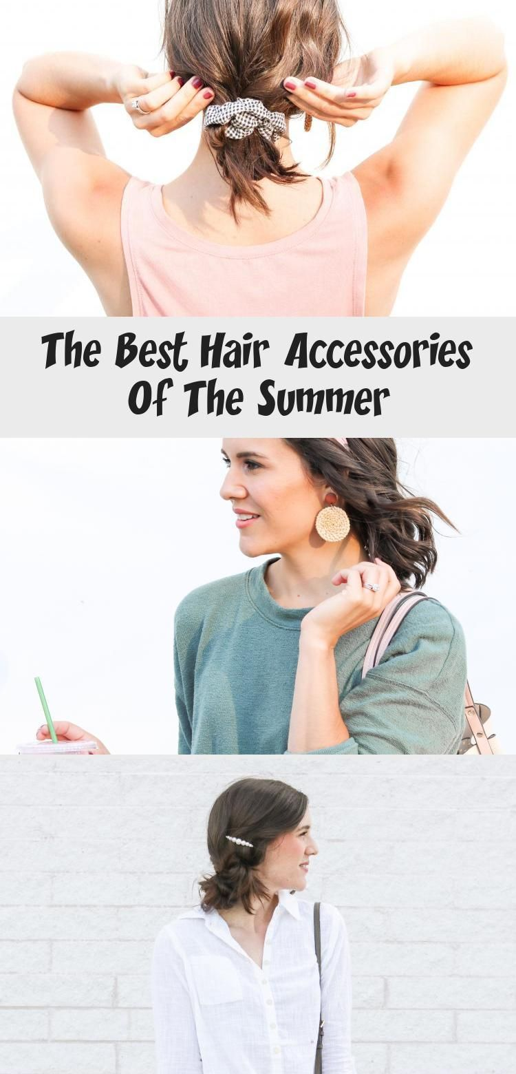 Best hair trends of the summer l scrunchies l best hair accessories for 2019 l s...  Best hair trends of the summer l scrunchies l best hair accessories for 2019 l short hair scrunchie #accessories #hair #SCRUNCHIES #Summer #Trends