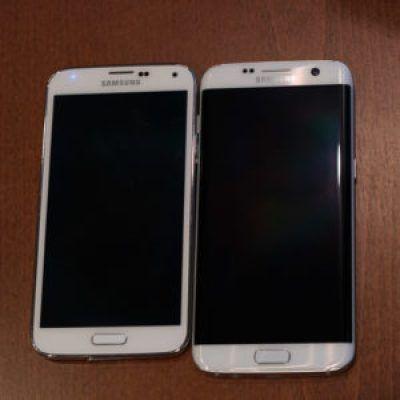 Samsung Galaxy S5 Vs Galaxy S7 Edge