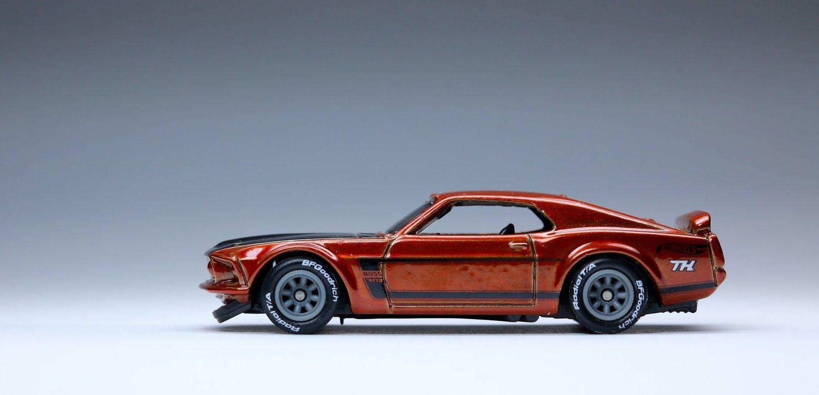 69 Ford Mustang Boss 302 - $TH '15 | Hot Wheels | Mustang