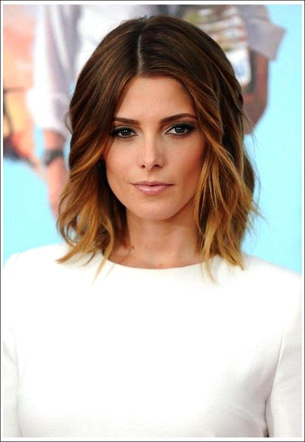 35 Best Mid-Length Hairstyles for 2018 – Simple Shoulder-Length Hairstyles - New Site #shoulderlengthhair