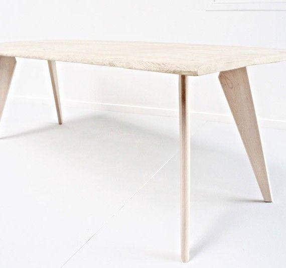 pieds de table et meuble design en bois