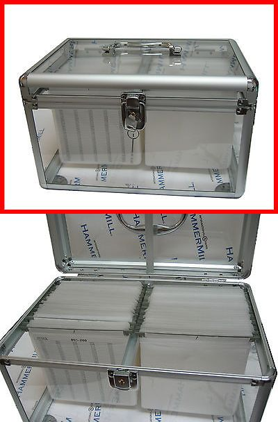 Media Cases And Storage 200 Cd Dvd Transparent Aluminum Case Organizer With Sleeve Hold