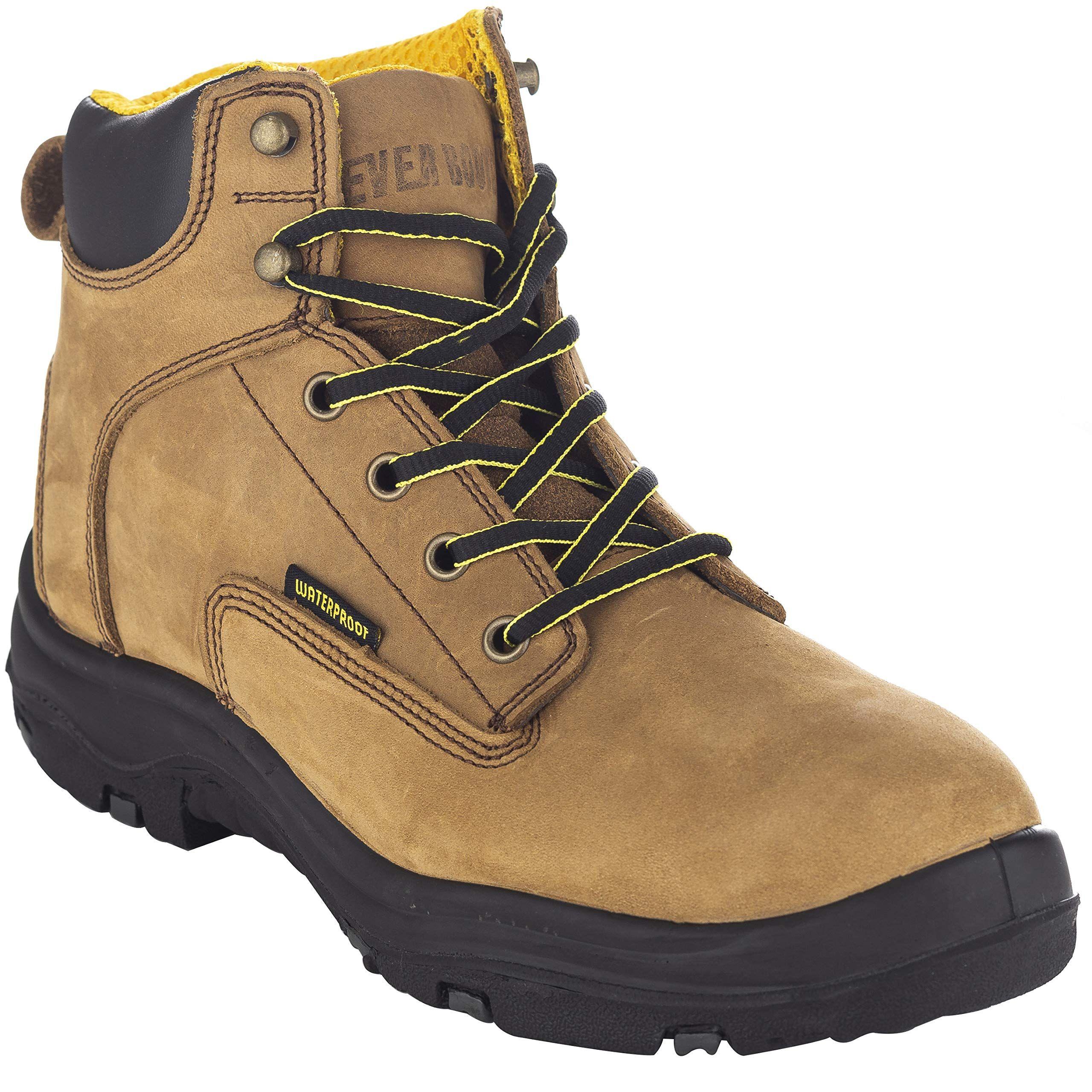 Premium Leather Waterproof Work Boots