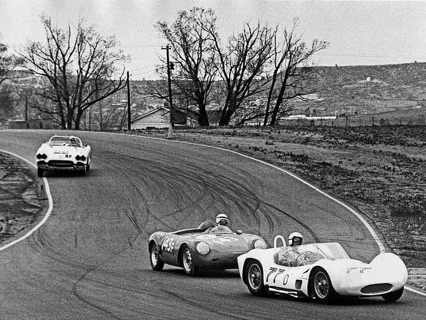 The golden era bolt a roll bar in your Corvette, Porsche