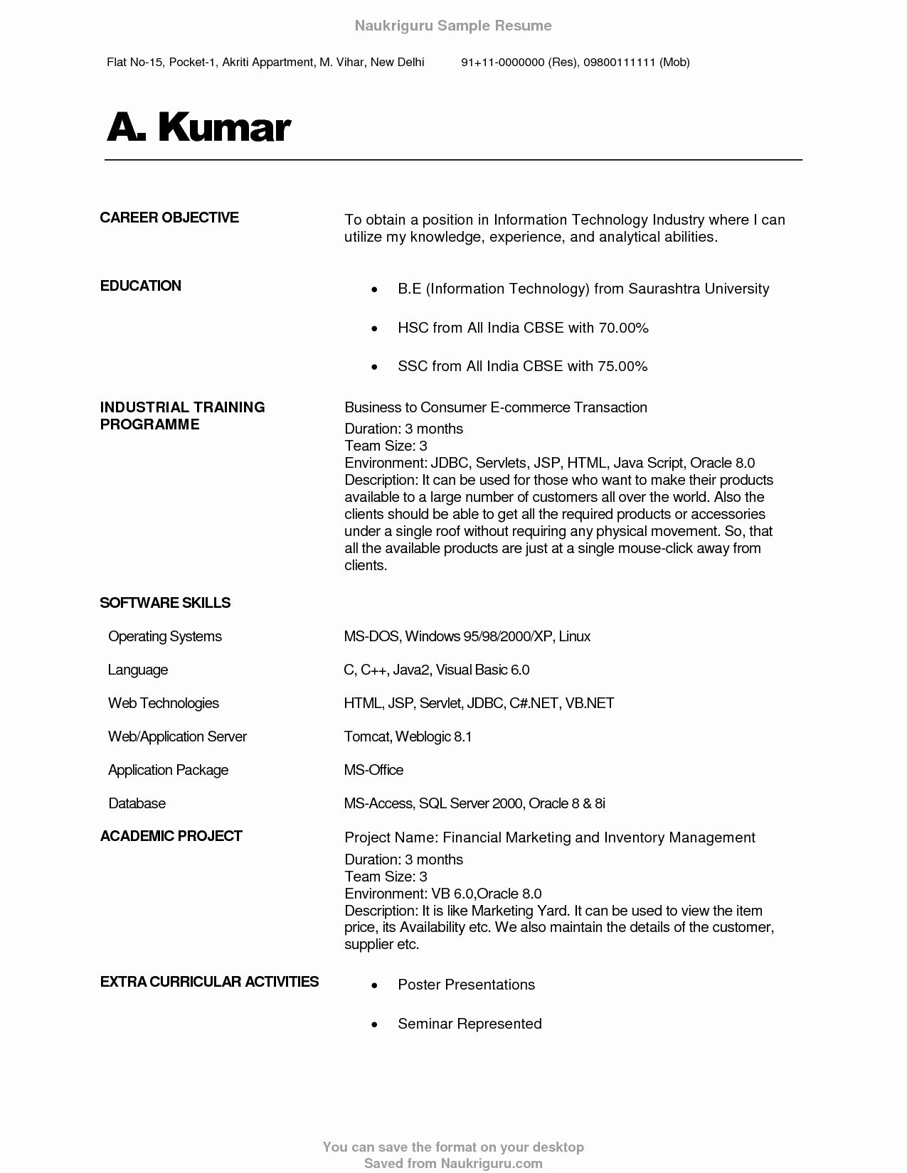 resume headline for hr freshers najmlaemah Best resume