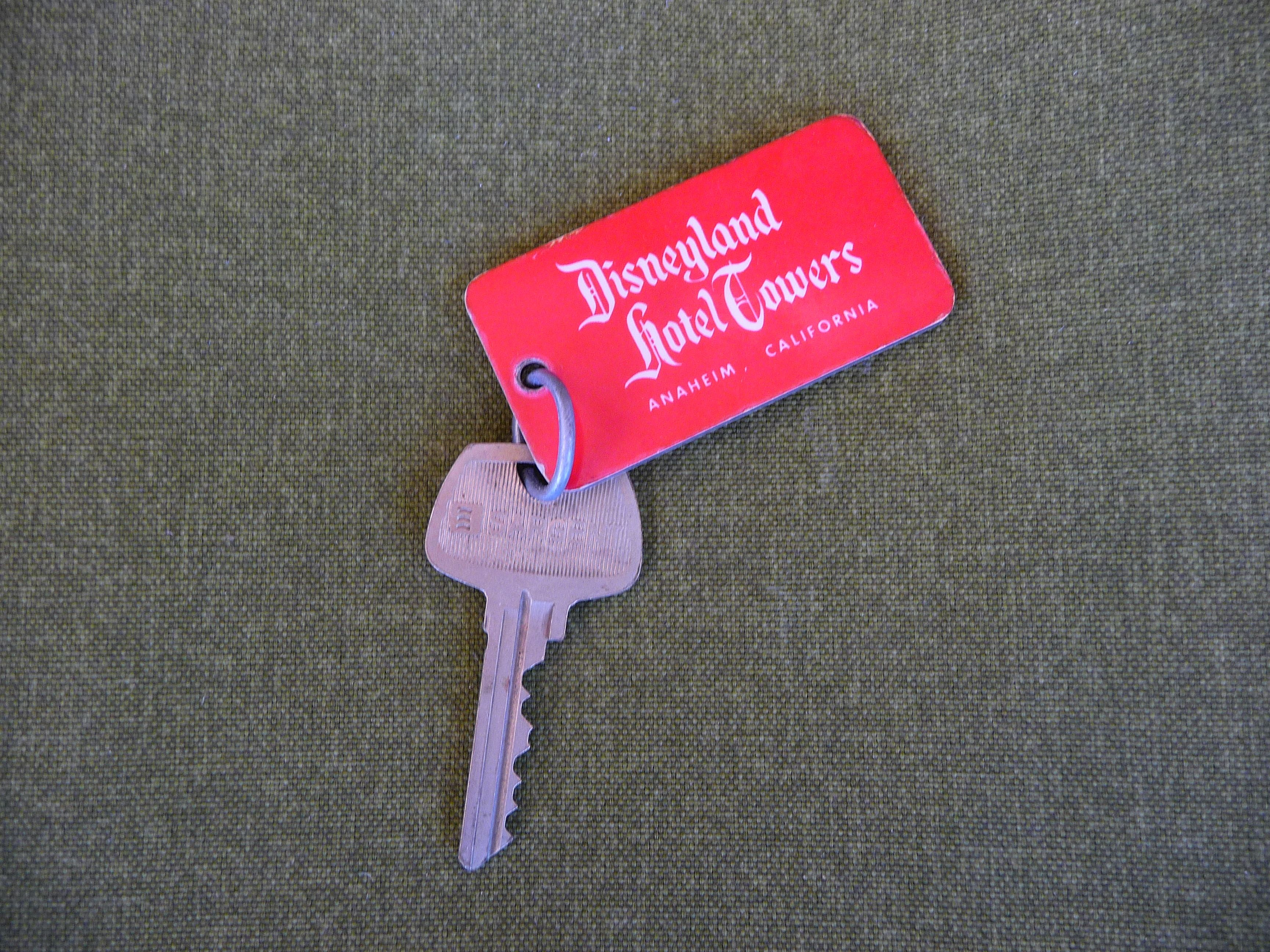 Disneyland hotel key disneyland hotel disneyland