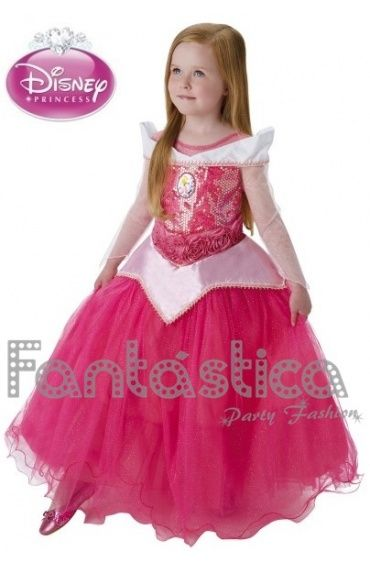 Disfraz para Niña Princesa Disney Bella Durmiente - Disfraz Original de Disney Princesa Aurora II
