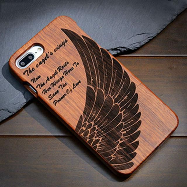 Angel's Wings: Hard Wood Designer Case For Samsung Galaxy ...