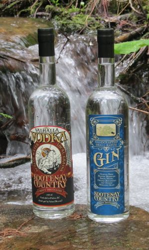 Valhalla Vodka and County Gin