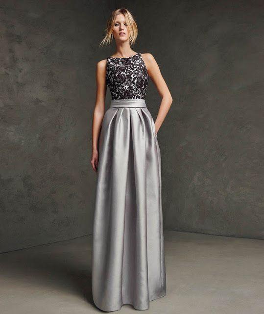 ebbb0e32c2375 Moda en vestidos largos