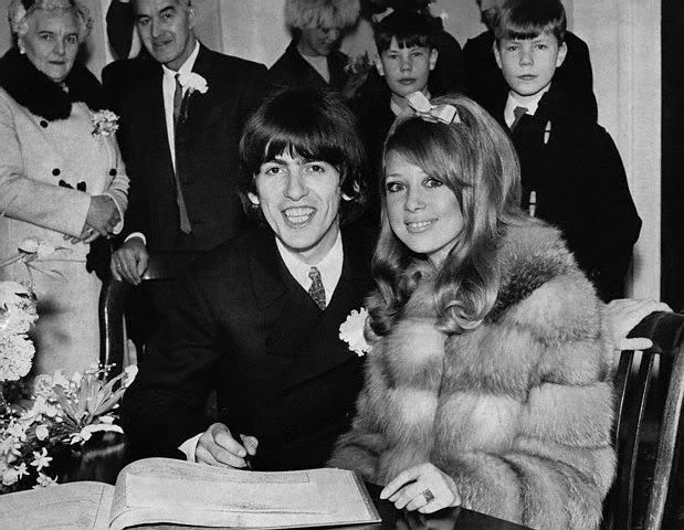 George And Pattie Wedding