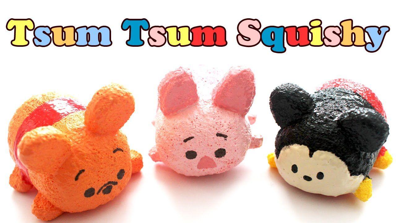 Homemade tsum tsum pooh squishy tutorial craft ideas for Squishy ideas
