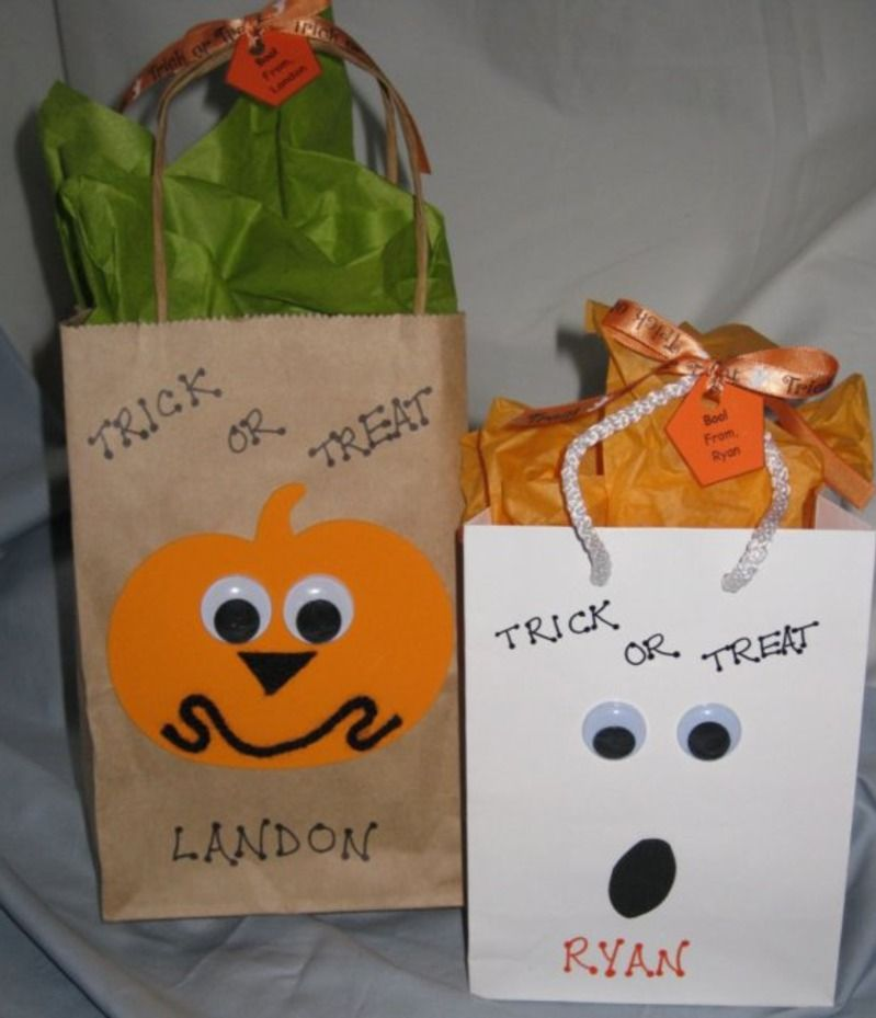 Halloween goodie bags!! Perfect for kids parties or class ...